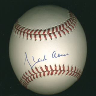 Autographs: HANK AARON - BASEBALL SIGNED