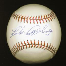 LUKE APPLING - AUTOGRAPHED SIGNED BASEBALL