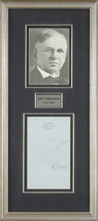 Autographs: JOHN WANAMAKER - TYPED LETTER SIGNED 09/13/1919