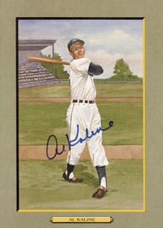 AL MR. TIGER KALINE - PEREZ-STEELE ILLUSTRATION SIGNED