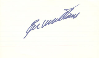 EDDIE MATHEWS - AUTOGRAPH
