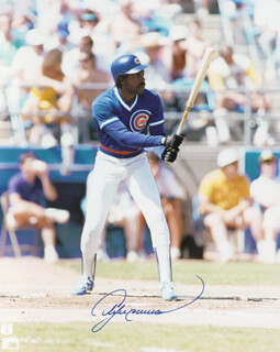 ANDRE HAWK DAWSON - AUTOGRAPHED SIGNED PHOTOGRAPH