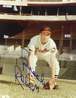 BROOKS ROBINSON - AUTOGRAPHED SIGNED PHOTOGRAPH