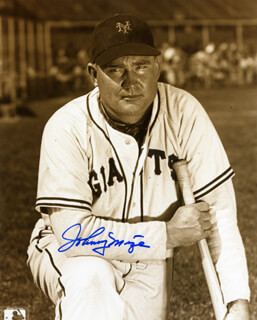JOHNNY MIZE - AUTOGRAPHED SIGNED PHOTOGRAPH