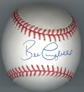 BILL CAMPBELL - AUTOGRAPHED SIGNED BASEBALL