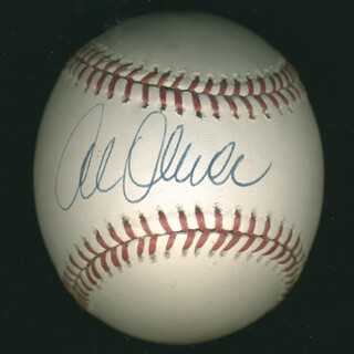 AL MR. SCOOP OLIVER - AUTOGRAPHED SIGNED BASEBALL