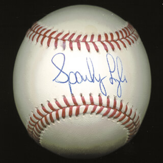 SPARKY LYLE - AUTOGRAPHED SIGNED BASEBALL