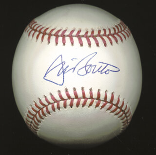 Autographs: JIM BOUTON - BASEBALL SIGNED