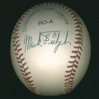 MARK THE BIRD FIDRYCH - AUTOGRAPHED SIGNED BASEBALL