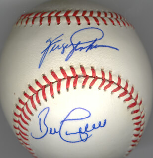 FERGUSON JENKINS - AUTOGRAPHED SIGNED BASEBALL CO-SIGNED BY: BILL CAMPBELL