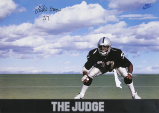 LESTER THE JUDGE HAYES - AUTOGRAPHED SIGNED POSTER