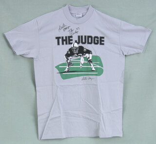 LESTER THE JUDGE HAYES - TEE SHIRT SIGNED