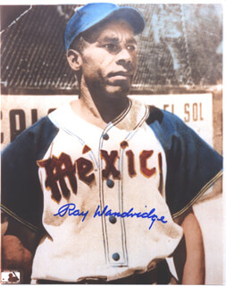 RAY DANDRIDGE - AUTOGRAPHED SIGNED PHOTOGRAPH