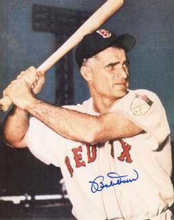 BOBBY DOERR - AUTOGRAPHED SIGNED PHOTOGRAPH