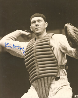 BILL DICKEY - AUTOGRAPHED SIGNED PHOTOGRAPH