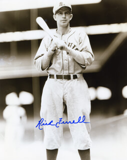 RICK FERRELL - AUTOGRAPHED SIGNED PHOTOGRAPH