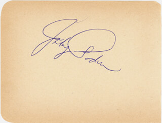 JOHNNY PODRES - AUTOGRAPH