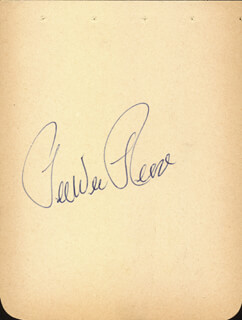 PEE WEE REESE - AUTOGRAPH