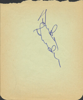 DUKE SNIDER - AUTOGRAPH CO-SIGNED BY: JOHNNY KLIPPSTEIN
