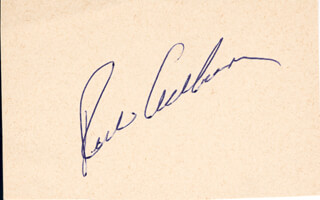 Autographs: RICHIE WHITEY ASHBURN - SIGNATURE(S)