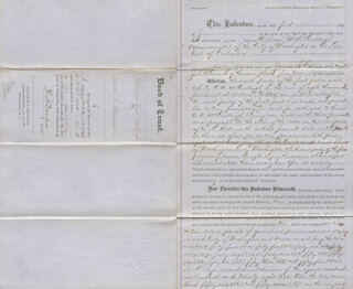 FREDERICK DOUGLASS - DEED SIGNED 06/02/1886