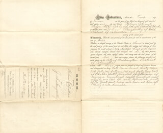 FREDERICK DOUGLASS - DEED SIGNED 06/02/1886 - HFSID 124843