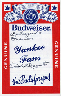 PHIL RIZZUTO - INSCRIBED PROGRAM SIGNED