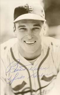 DICK SISLER - AUTOGRAPHED SIGNED PHOTOGRAPH