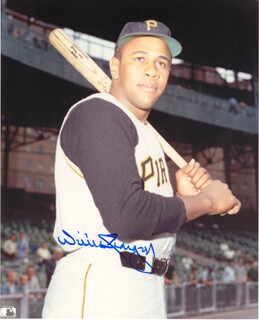 WILLIE STARGELL - AUTOGRAPHED SIGNED PHOTOGRAPH