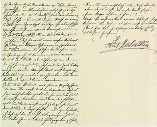 ANTON RUBINSTEIN - AUTOGRAPH LETTER SIGNED 05/21/1880