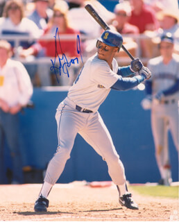 KEN GRIFFEY JR. - AUTOGRAPHED SIGNED PHOTOGRAPH