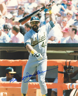 REGGIE MR. OCTOBER JACKSON - AUTOGRAPHED SIGNED PHOTOGRAPH