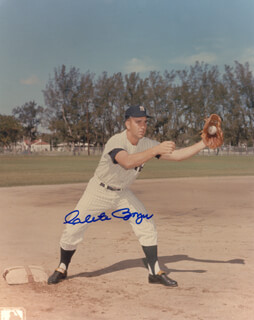 CLETE BOYER - AUTOGRAPHED SIGNED PHOTOGRAPH