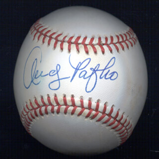 ANDY HANDY ANDY PAFKO - AUTOGRAPHED SIGNED BASEBALL