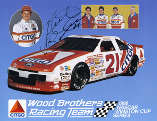 NEIL BONNETT - AUTOGRAPHED SIGNED PHOTOGRAPH