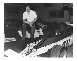 PARNELLI JONES - AUTOGRAPHED SIGNED PHOTOGRAPH