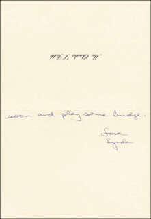 LYNDA BIRD JOHNSON ROBB - AUTOGRAPH LETTER SIGNED