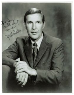 MORRIS MO UDALL - AUTOGRAPHED INSCRIBED PHOTOGRAPH