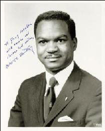 WALTER E. FAUNTROY - AUTOGRAPHED INSCRIBED PHOTOGRAPH