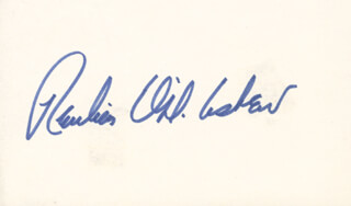 Autographs: GOVERNOR REUBIN ASKEW - SIGNATURE(S)