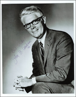 Autographs: JOHN B. ANDERSON - PHOTOGRAPH SIGNED