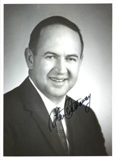 Autographs: STANLEY K. HATHAWAY - PHOTOGRAPH SIGNED