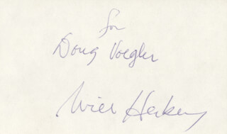Autographs: WILL HERBERG - INSCRIBED SIGNATURE