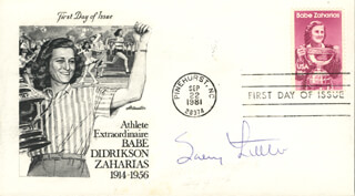 SALLY LITTLE - FIRST DAY COVER SIGNED