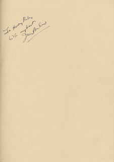 IRVING BERLIN - INSCRIBED MUSICAL SCORE SIGNED CIRCA 1940