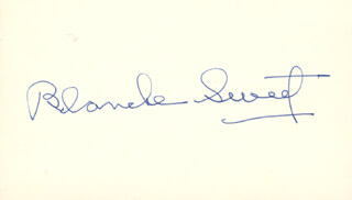 BLANCHE SWEET - AUTOGRAPH