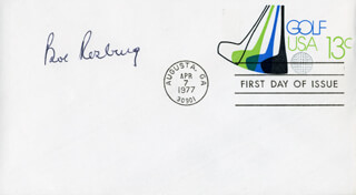 BOB ROSBURG - FIRST DAY COVER SIGNED