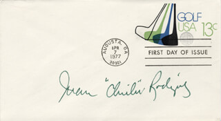 CHI CHI (JUAN) RODRIGUEZ - FIRST DAY COVER SIGNED