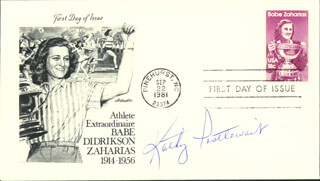 KATHY POSTLEWAIT - FIRST DAY COVER SIGNED