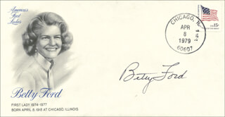 FIRST LADY BETTY FORD - SPECIAL COVER SIGNED